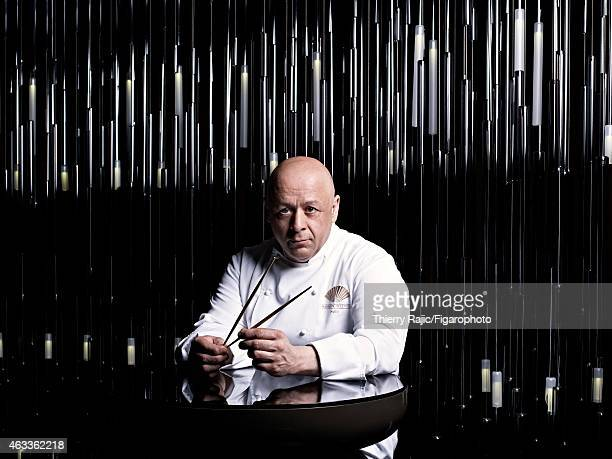 Chef Thierry Marx is photographed for Madame Figaro on April 10 2012 in Paris France CREDIT MUST READ Thierry Rajic/Figarophoto/Contour by Getty...