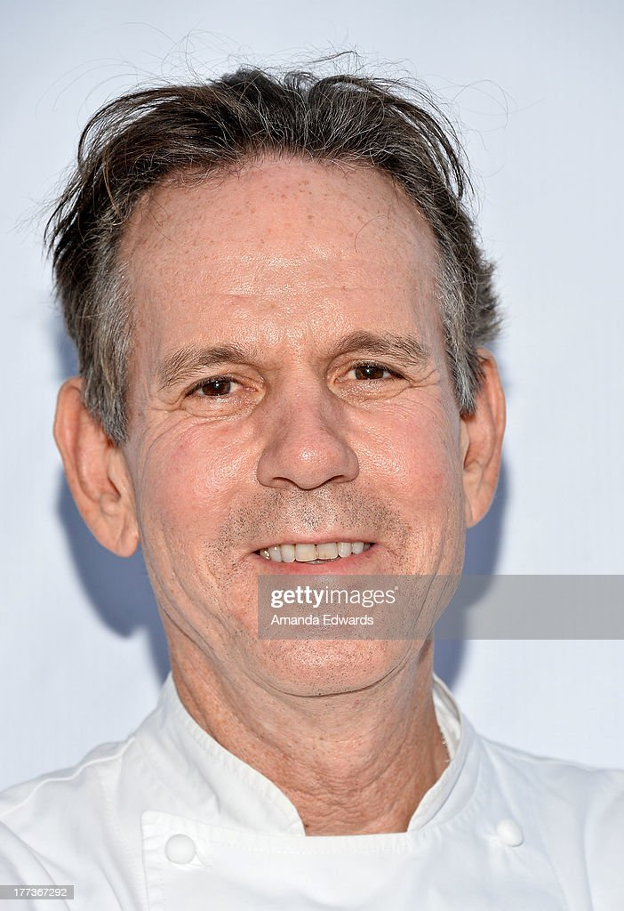 Chef <a gi-track='captionPersonalityLinkClicked' href=/galleries/search?phrase=Thomas+Keller+-+Chef&family=editorial&specificpeople=2179375 ng-click='$event.stopPropagation()'>Thomas Keller</a> arrives at the opening night of the 2013 Los Angeles Food & Wine Festival - 'Festa Italiana With Giada De Laurentiis' on August 22, 2013 in Los Angeles, California.