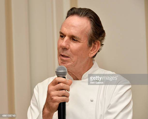 Chef Thomas Keller attends Adam Tihany's Book Launch Event on April 22 2014 in New York City