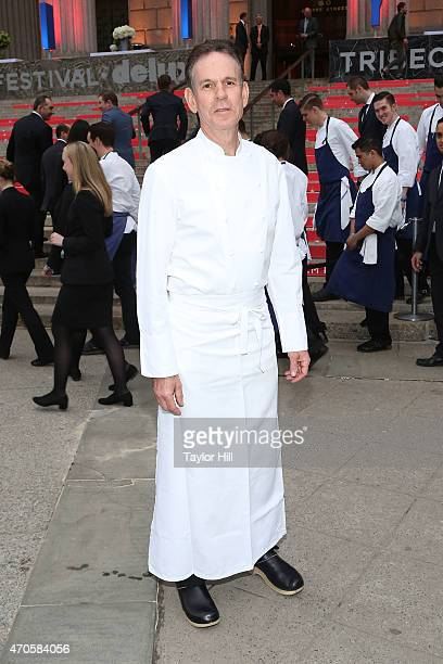 Chef Thomas Keller attends the 2015 Tribeca Film Festival Vanity Fair Party at the New York Supreme Court on April 14 2015 in New York City