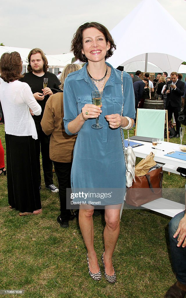 Chef Thomasina Miers attends the VIP Preview for 'Taste of London' at Regent's Park on June 19, 2013 in London, England.