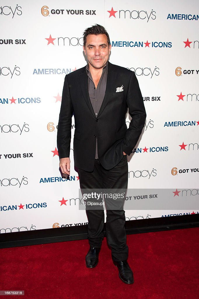 Chef <a gi-track='captionPersonalityLinkClicked' href=/galleries/search?phrase=Todd+English&family=editorial&specificpeople=830239 ng-click='$event.stopPropagation()'>Todd English</a> attends Macy's 'American Icons' Campaign Launch at Gotham Hall on May 14, 2013 in New York City.