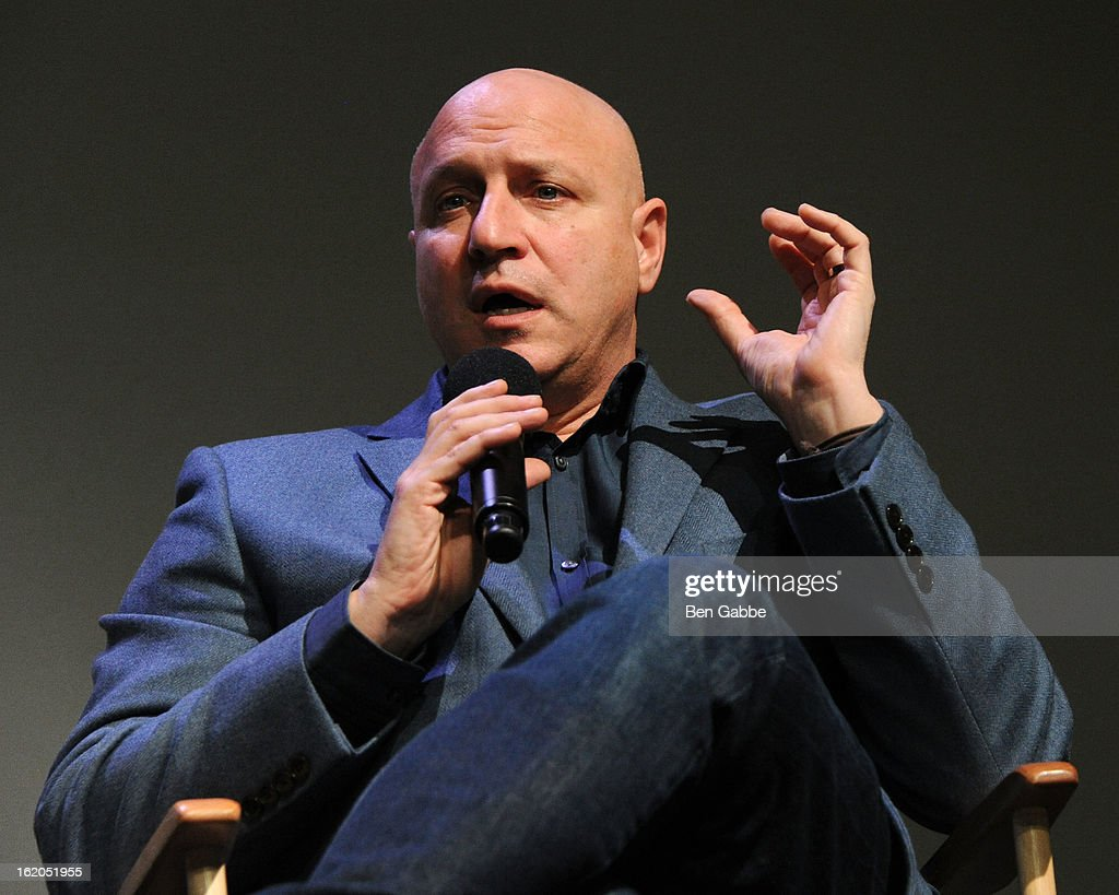 Chef Tom Colicchio attends Apple Store Soho Presents Meet The Filmmakers 'A Place At The Table' at Apple Store Soho on February 18 2013 in New York...