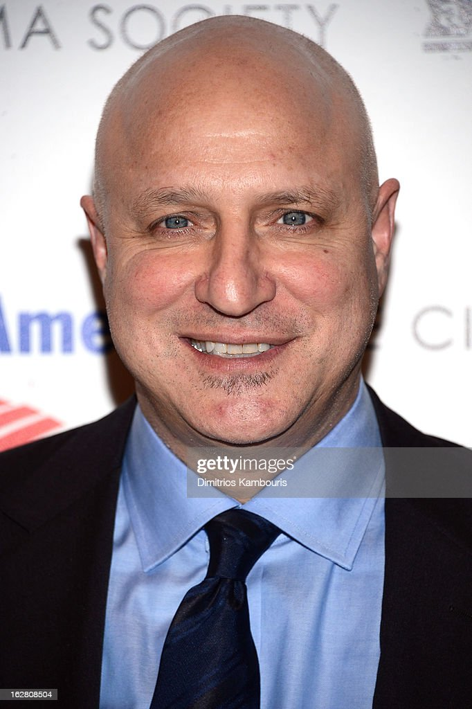 Chef Tom Colicchio attends the Bank of America and Food Wine with The Cinema Society screening of 'A Place at the Table' at Museum of Modern Art on...