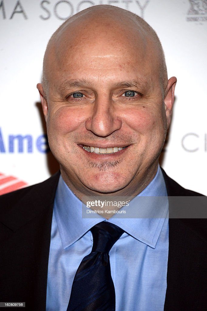 Chef <a gi-track='captionPersonalityLinkClicked' href=/galleries/search?phrase=Tom+Colicchio&family=editorial&specificpeople=4167072 ng-click='$event.stopPropagation()'>Tom Colicchio</a> attends the Bank of America and Food & Wine with The Cinema Society screening of 'A Place at the Table' at Museum of Modern Art on February 27, 2013 in New York City.