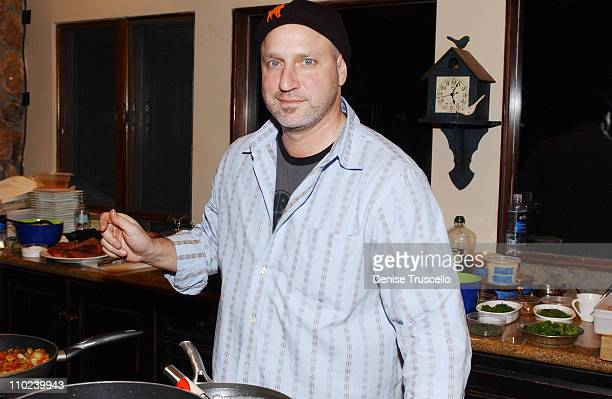 Chef Tom Colicchio during 2005 Park City 'Ellie Parker' Dinner at Levi's Ranch in Park City Utah United States
