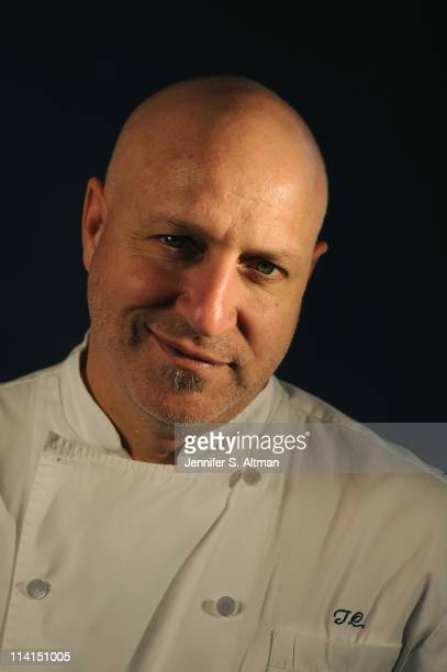 Chef Tom Colicchio is photographed for Los Angeles Times on April 14 2011 in New York City