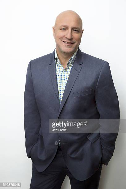 Chef Tom Colicchio is photographed for TV Guide Magazine on January 15 2015 in Pasadena California