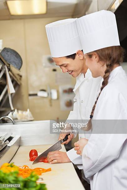 Training cafe stock photos and pictures getty images for Assistant cuisine