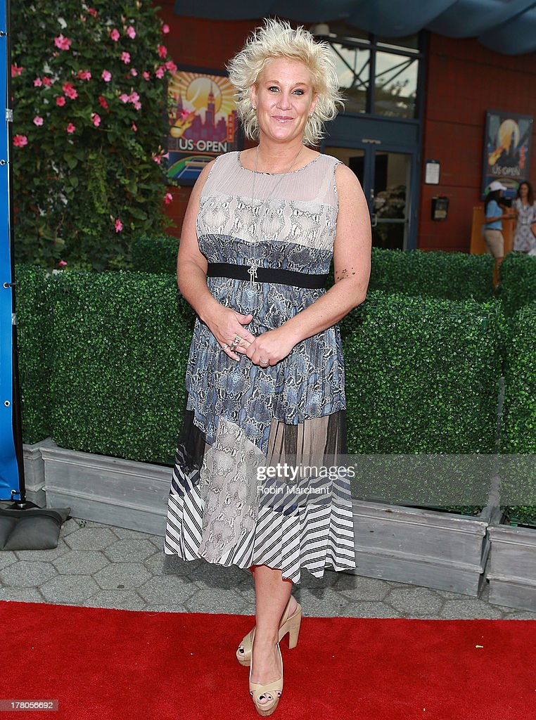 Chef/ TV personality Anne Burrell attends the 13th Annual USTA Serves Opening Night Gala at USTA Billie Jean King National Tennis Center on August 26, 2013 in New York City.