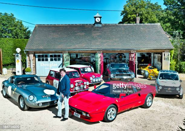 Chef tv presenter and car enthusiast James Martin is photographed for Live magazine on July 23 2012 in Overton England