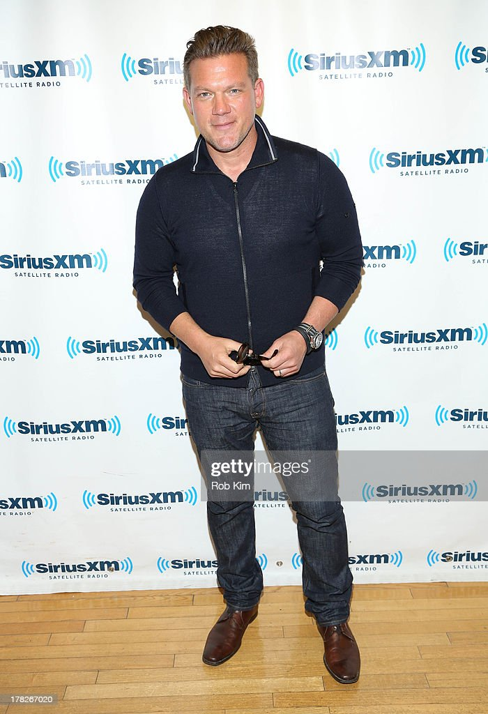 Chef Tyler Florence visits at SiriusXM Studios on August 28, 2013 in New York City.