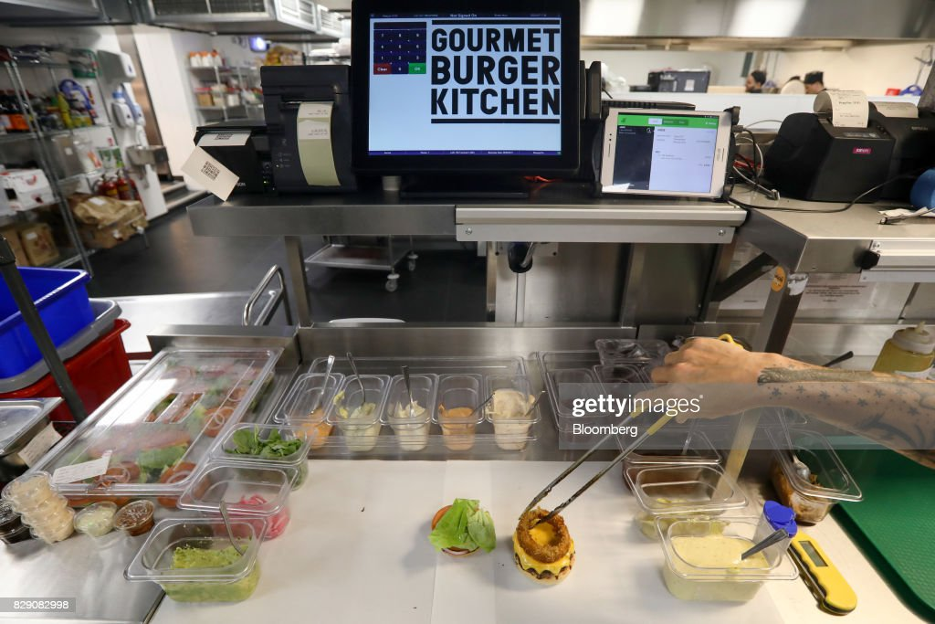 Gourmet Burger Kitchen Ltd Stock Photos and Pictures Getty Images