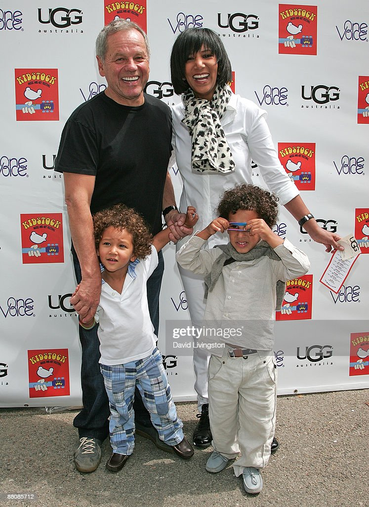 Chef Wolfgang Puck and his family attend the 3rd annual Kidstock Music and Art Festival at Greystone Mansion on May 31, 2009 in Beverly Hills, California.