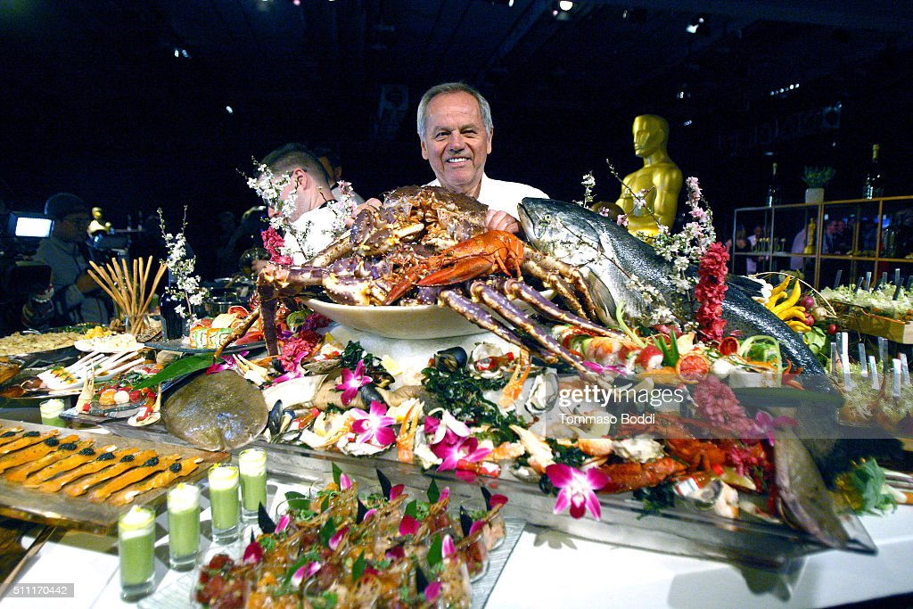 Chef <a gi-track='captionPersonalityLinkClicked' href=/galleries/search?phrase=Wolfgang+Puck&family=editorial&specificpeople=157523 ng-click='$event.stopPropagation()'>Wolfgang Puck</a> attends the 88th Annual Oscars - Governors Ball Press Preview held at The Ray Dolby Ballroom at Hollywood & Highland Center on February 18, 2016 in Hollywood, California.