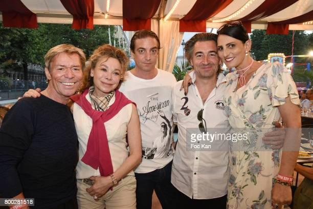 Chef Yvan Grace de Capitani Luc Chancel Jean Pierre Jacquin and Sylvie Ortega Munos attend La Fete des Tuileries on June 23 2017 in Paris France