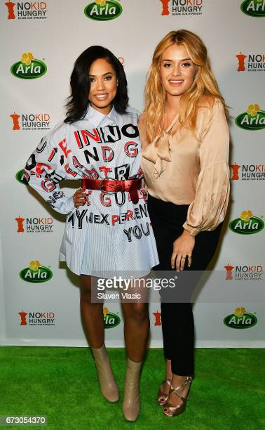 Chef/author/TV personality Ayesha Curry and author/TV host Daphne Oz attend New York Premiere of the documentary 'The Live Unprocessed Project'...