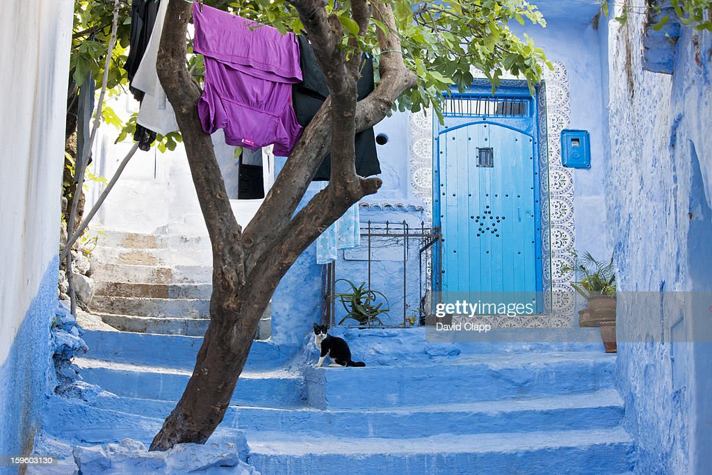 Chefchauen, Morocco, North Africa : Stock Photo