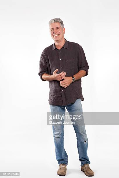 Chef/host/author Anthony Bourdain is photographed for Ad Week on July 27 2012 in New York City PUBLISHED IMAGE