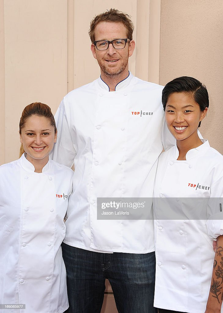 Chefs Brooke Williamson, CJ Jacobson and Kristen Kish attend Bravo Media's 2013 For Your Consideration Emmy event at Leonard H. Goldenson Theatre on May 22, 2013 in North Hollywood, California.