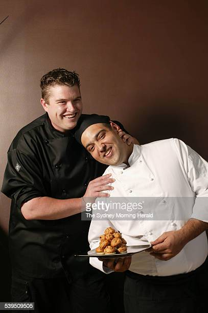 Chefs James Enemark and Nathan Tillot from Liquidity 23 November 2004 SMH Picture by SAHLAN HAYES