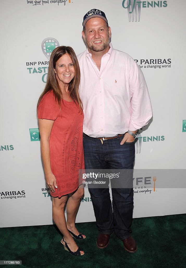 Chefs Jennifer and Chris Russell attend the 14th Annual BNP Paribas Taste Of Tennis at W New York Hotel on August 22, 2013 in New York City.