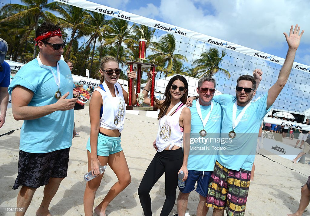 Chefs + Models Volleyball Tournament during the Food Network South Beach Wine & Food Festival on February 20, 2014 in Miami, Florida.