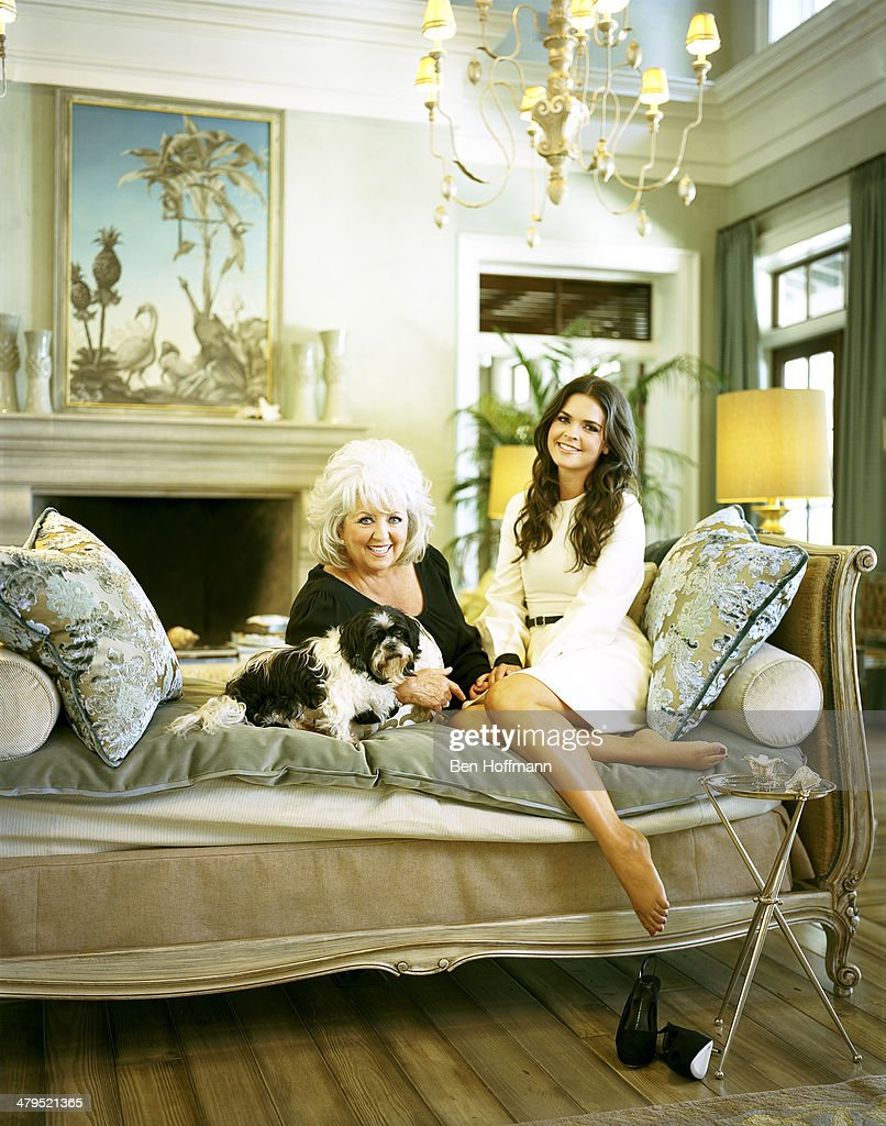 Paula deen photo getty images - Chefs Paula Deen And Katie Lee Are Photographed With Deen S Shih Tzu Otis For More