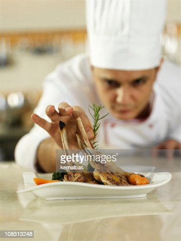 chef's touch : Stock Photo