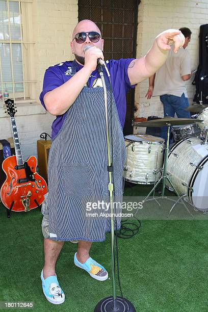 Chef/television personality Duff Goldman attends Crab Cake 2013 at The Pikey on September 8 2013 in Los Angeles California