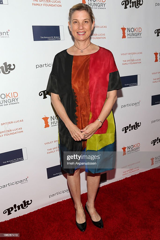 Chef/television personality Mary Sue Milliken attends the 3rd Annual Share Our Strength No Kid Hungry Los Angeles Dinner at Ron Burkle's Green Acres Estate on October 29, 2013 in Beverly Hills, California.