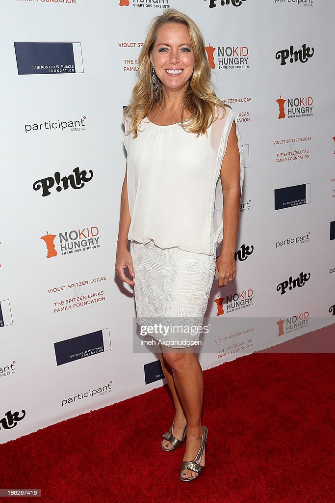Chef/television personality Melissa d'Arabian attends the 3rd Annual Share Our Strength No Kid Hungry Los Angeles Dinner at Ron Burkle's Green Acres Estate on October 29, 2013 in Beverly Hills, California.