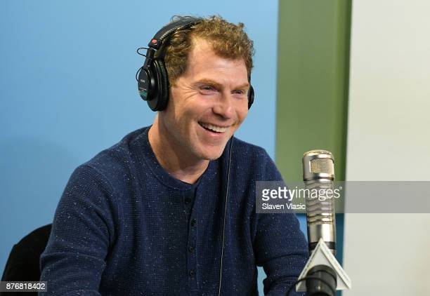 Chef/TV personality Bobby Flay visits 'The Elvis Duran Z100 Morning Show' at Z100 Studio on November 20 2017 in New York City
