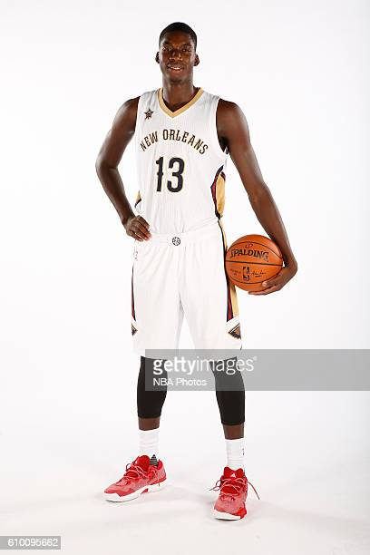 Cheick Diallo of the New Orleans Pelicans poses for a portrait during the 2016 NBA Media Day on September 23 2016 at the Smoothie King Center in New...