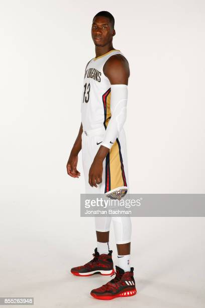 Cheick Diallo of the New Orleans Pelicans poses for a portrait during media day on September 25 2017 at Smoothie King Center in New Orleans Louisiana...