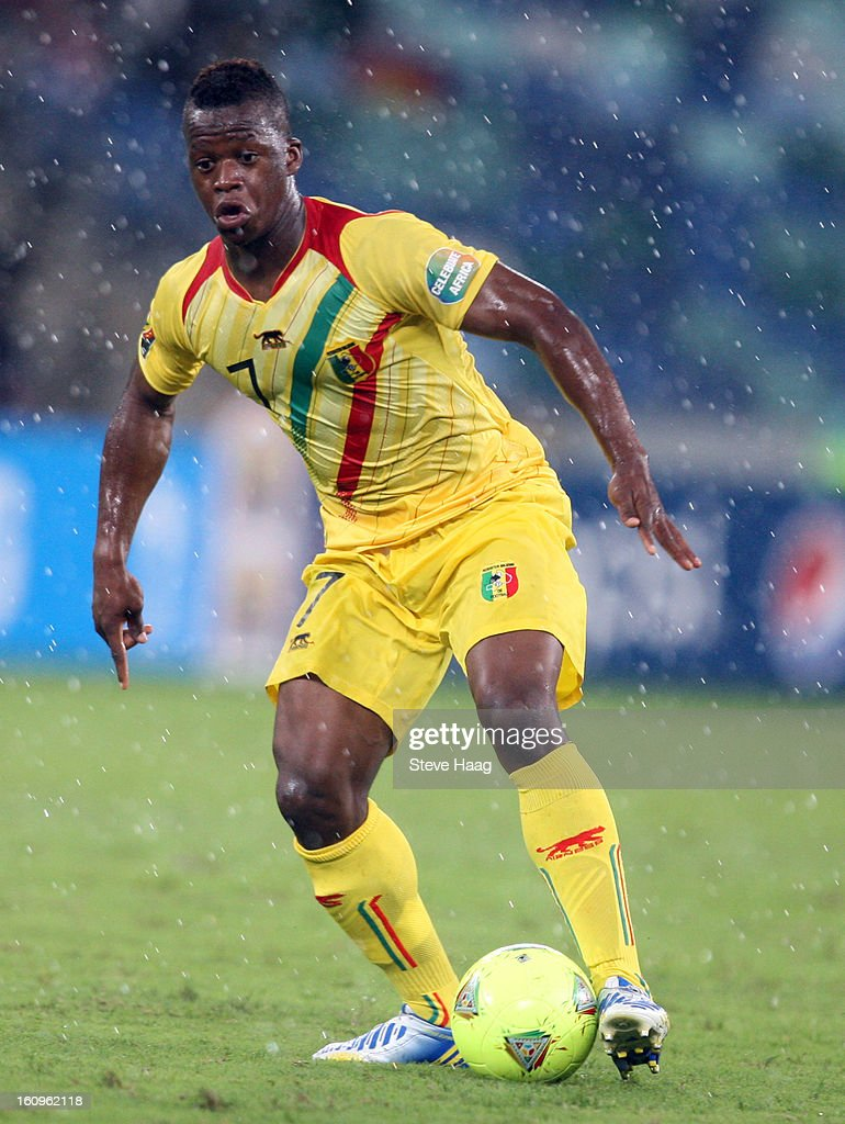 Cheick Diarra of Mali during the 2013 African Cup of Nations Semi-Final match between Mali and Nigeria at Moses Mahbida Stadium on February 06, 2013 in Durban, South Africa.