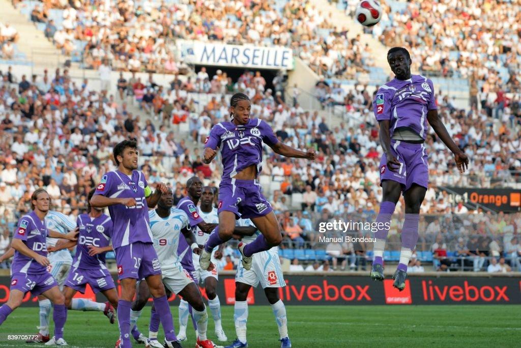 Cheik MBENGUE - - Marseille / Toulouse - 8eme journee de Ligue 1,