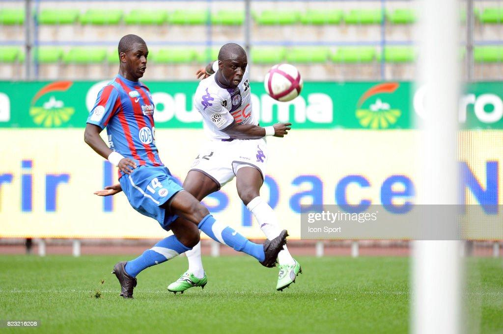 CHeikh MBENGUE - - Caen / Toulouse - 5eme journee de Ligue 1,