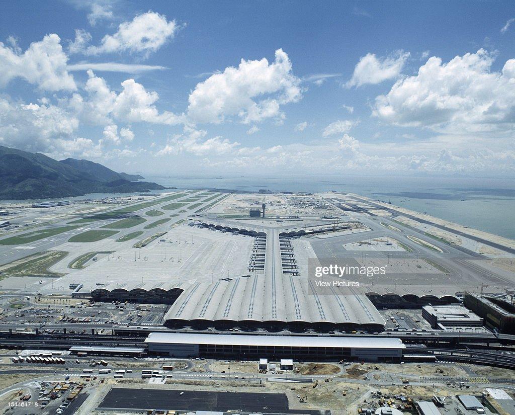 Chek Lap Kok Hong Kong International Airport Hong Kong Hong Kong Architect Foster And Partners Chek Lap Kok Hong Kong International Airport 1998...