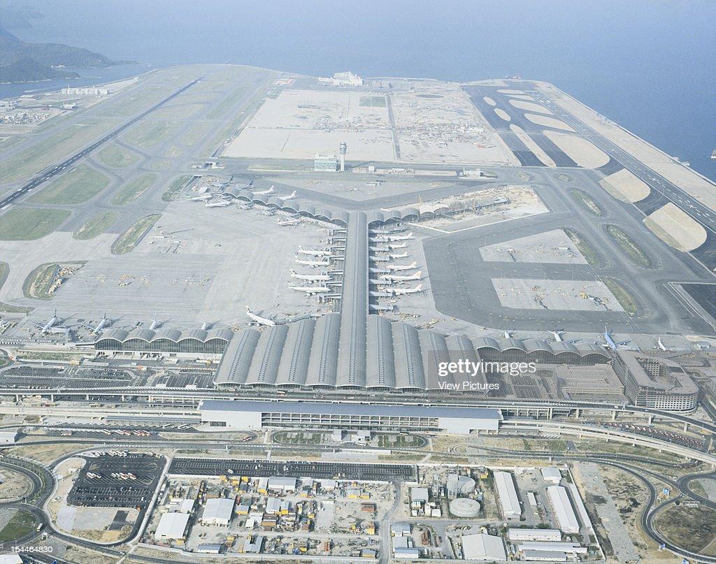 Chek Lap Kok Hong Kong International Airport Hong Kong Hong Kong Architect Foster And Partners Chek Lap Kok Hong Kong International Airport Aerial...