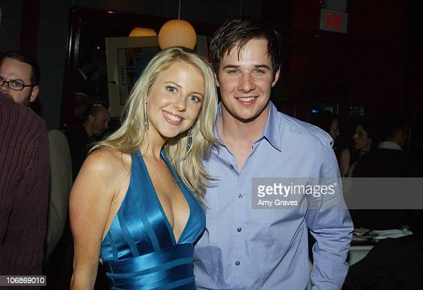 Chelan Simmons and Ryan Merriman during 'Final Destination 3' Los Angeles Premiere After Party at Level 3 Hollywood Highland in Hollywood California...
