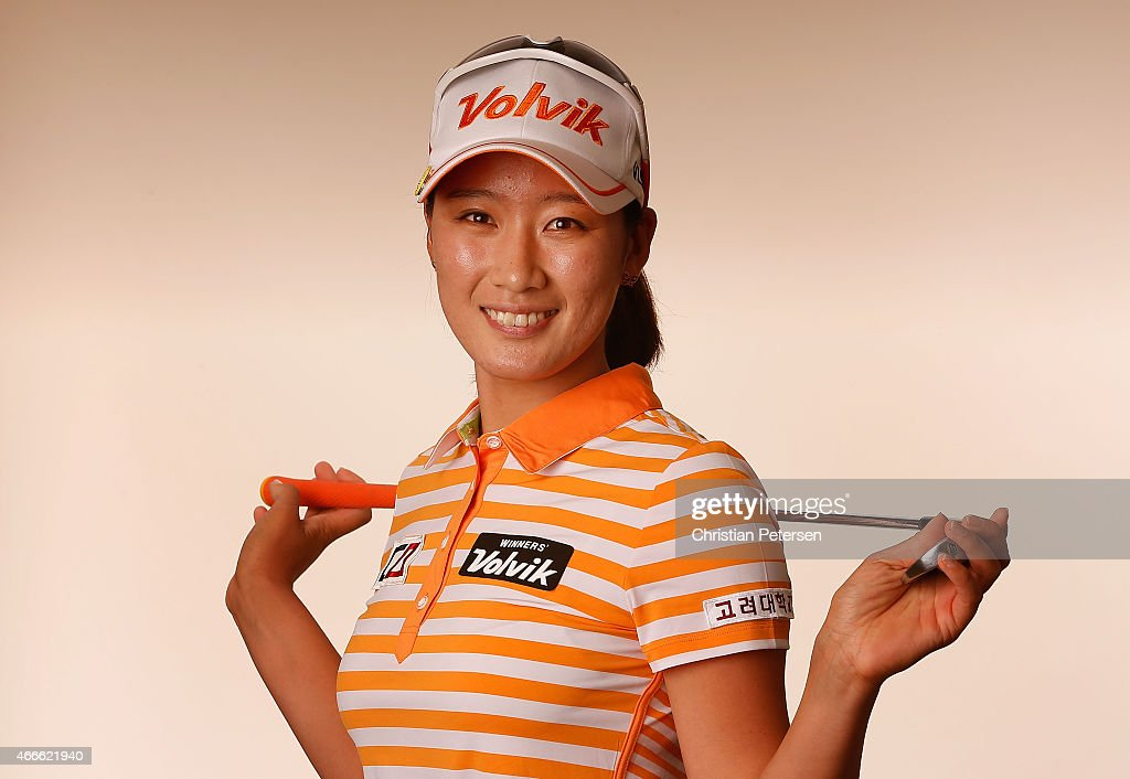 Chella Choi of South Korea poses for a portrait ahead of the LPGA Founders Cup at Wildfire Golf Club on March 17 2015 in Phoenix Arizona
