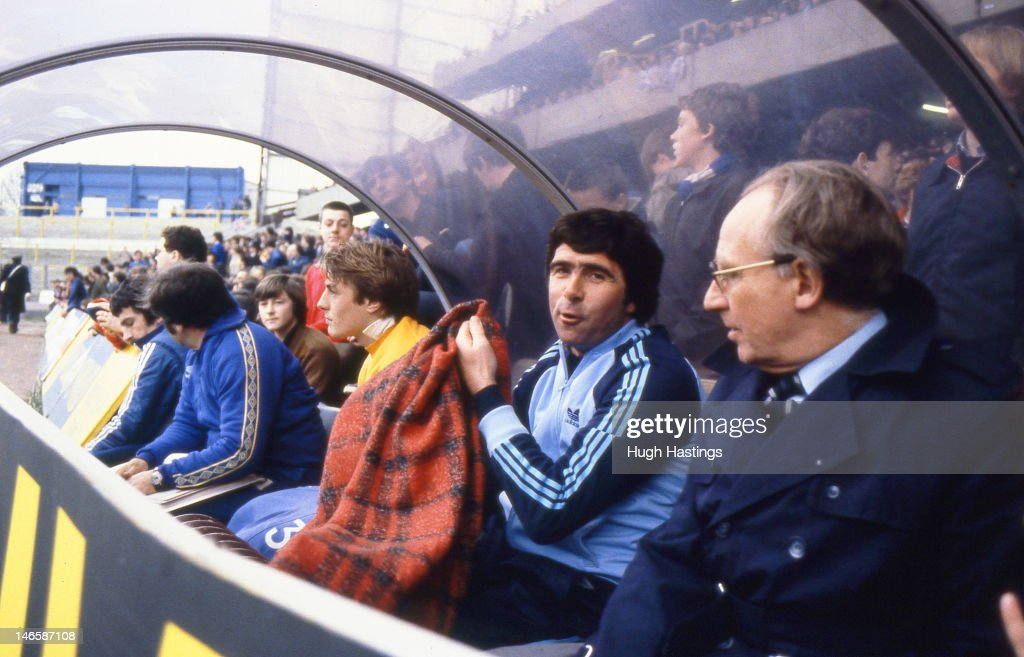 Chelsea Assistant Manger Bobby Gould during the Football League Division 2 match between Chelsea and Oldham Athletic held on May 3, 1980 at Stamford Bridge, in London. Chelsea won the match 3-0 but Chelsea missed out on promotion to Division One on goal difference.