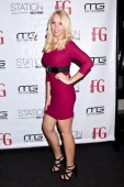 Chelsea Autumn arrives to the FG Magazine holiday party at W Hollywood on December 2 2011 in Hollywood California