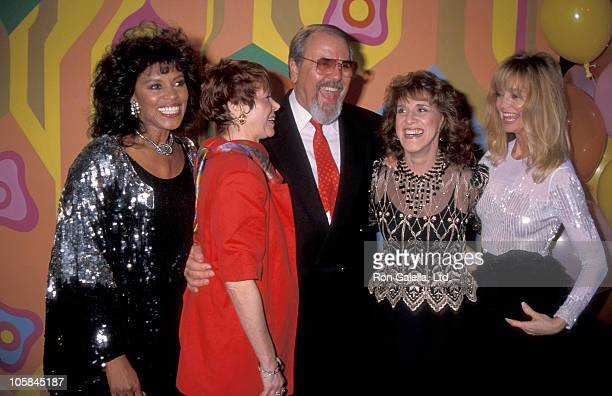 Chelsea Brown Judy Carne George Schlatter Goldie Hawn and Ruth Buzzi
