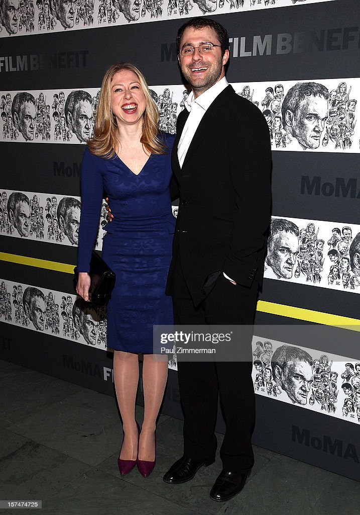 Chelsea Clinton and Marc Mezvinsky attend A Trubute To Quentin Tarantino at MOMA on December 3, 2012 in New York City.