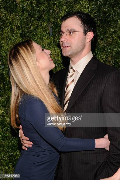 Chelsea Clinton and Marc Mezvinsky attend The Ninth Annual CFDA/Vogue Fashion Fund Awards at 548 West 22nd Street on November 13 2012 in New York City