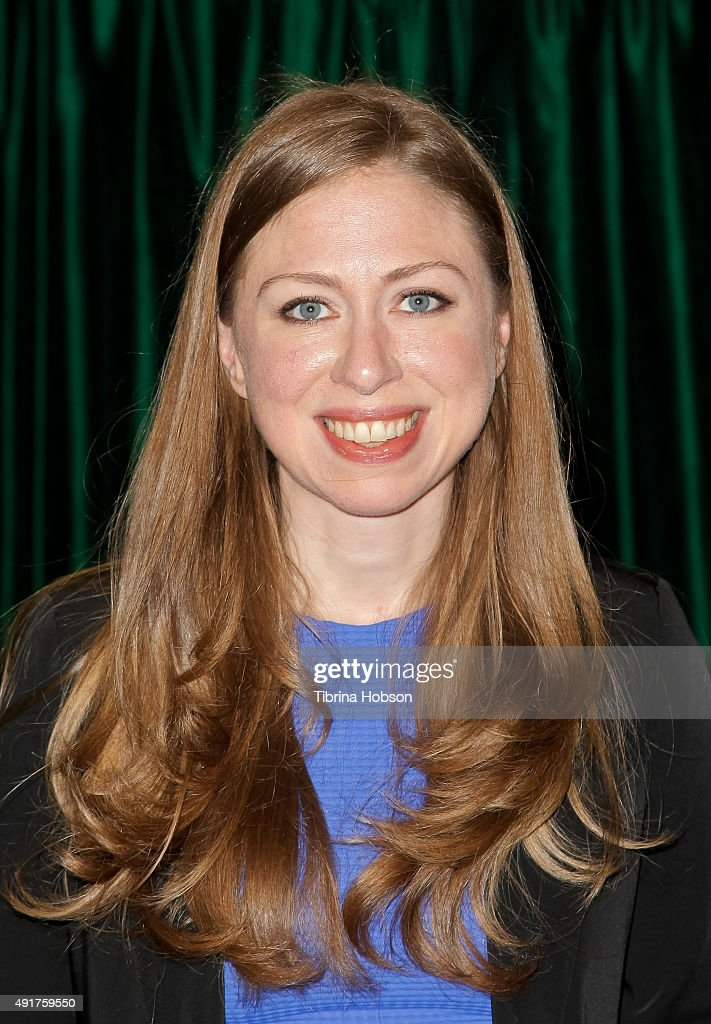 "Chelsea Clinton Signs Copies Of Her New Book ""It's Your World: Get Informed, Get Inspired & Get Going!"""
