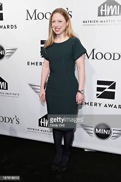 Chelsea Clinton attends the 2013 Emery Awards at Cipriani Wall Street on November 13 2013 in New York City