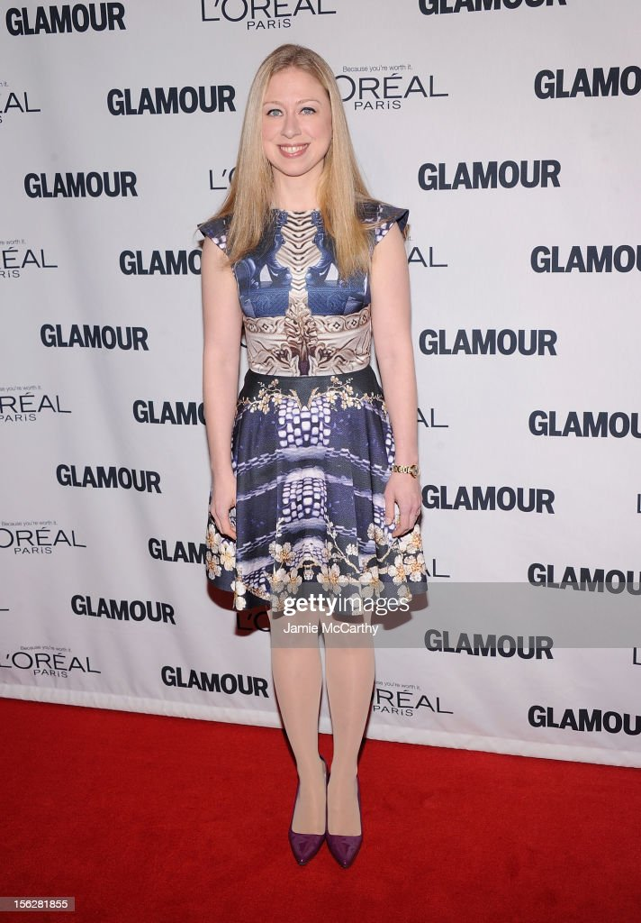 <a gi-track='captionPersonalityLinkClicked' href=/galleries/search?phrase=Chelsea+Clinton&family=editorial&specificpeople=119698 ng-click='$event.stopPropagation()'>Chelsea Clinton</a> attends the 22nd annual Glamour Women of the Year Awards at Carnegie Hall on November 12, 2012 in New York City.